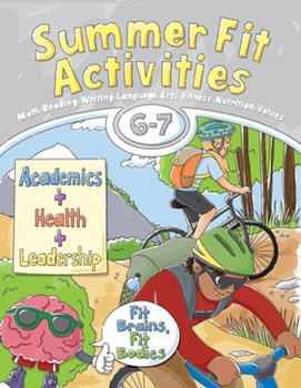 Paperback Summer Fit, Sixth - Seventh Grade Book