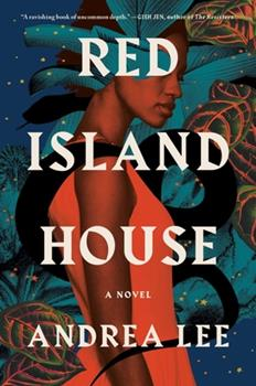 Hardcover Red Island House Book