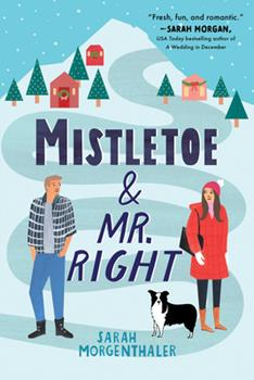Paperback Mistletoe and Mr. Right Book