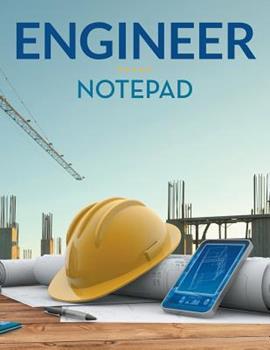 Paperback Engineer Notepad Book