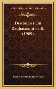 Hardcover Discourses on Radhasoami Faith Book