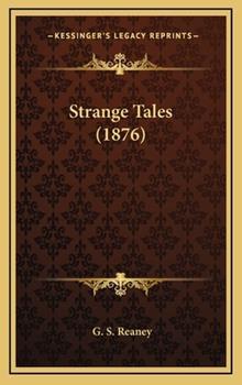 Hardcover Strange Tales Book