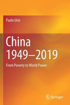 Paperback China 1949-2019: From Poverty to World Power Book