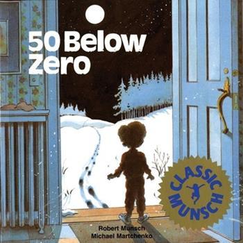 Paperback 50 Below Zero Book