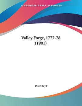 Paperback Valley Forge, 1777-78 Book