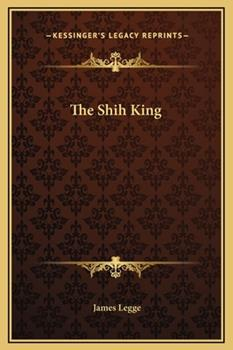 Hardcover The Shih King Book