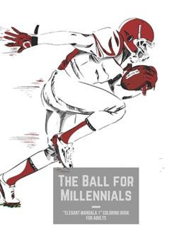 """Paperback The Ball for Millennials: """"ELEGANT MANDALA 1"""" Coloring Book for Adults, Activity Book, Large 8.5""""x11"""", Ability to Relax, Brain Experiences Relie Book"""
