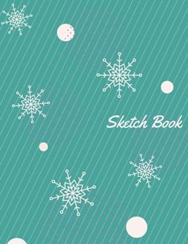 Paperback Sketch Book : Unleash Your Inner for Drawing 120 Pages, 8. 5 X 11 Book