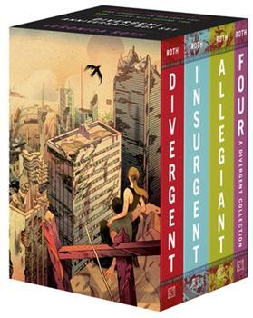 Paperback Divergent Anniversary 4-Book Box Set: Divergent, Insurgent, Allegiant, Four Book
