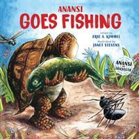 Anansi Goes Fishing - Book  of the Anansi