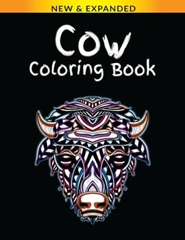 Paperback Cow Coloring Book: Stress Relieving Designs Coloring Book For Adults Book
