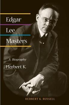 Paperback Edgar Lee Masters: A Biography Book