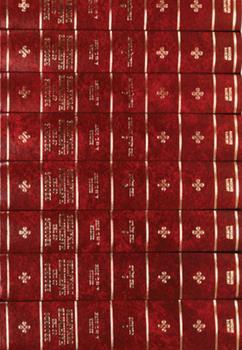 Hardcover Records of the Hashimite Dynasties 15 Volume Hardback Set Book