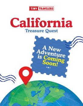 Board book Tiny Travelers California Treasure Quest Book