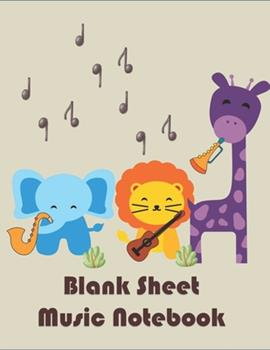 Paperback Blank Sheet Music Notebook : 12 Stave Manuscript Paper for Wonderful Musicians for Composition & Notation Book