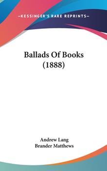 Hardcover Ballads of Books Book