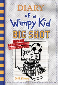 Hardcover Big Shot (Diary of a Wimpy Kid Book 16) Book
