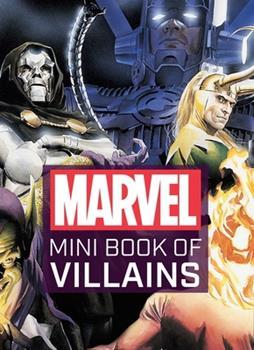 Hardcover Marvel Comics: Mini Book of Villains Book