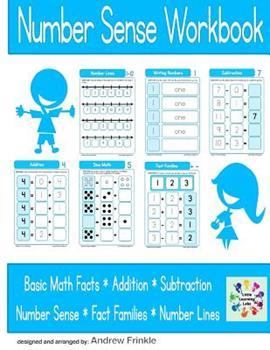 Paperback Number Sense Workbook Book