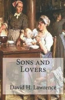 Paperback Sons and Lovers illustrated Book