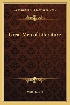 Great Men of Literature 1162795034 Book Cover