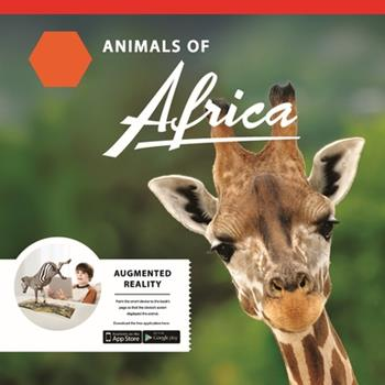 Paperback Animals of Africa: Augmented Reality Book Magic Educational Creative 3D Chracters with App Book