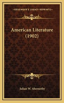 Hardcover American Literature Book
