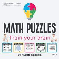 Math Puzzles: Train your brain 109839769X Book Cover