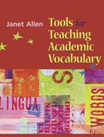 Tools for Teaching Academic Vocabulary 1571104089 Book Cover