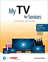 My TV for Seniors 0135591554 Book Cover