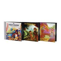 Jim Weiss Dragon Trilogy Bundle: My Father's Dragon; The Reluctant Dragon  The Dragon Diaries 1945841982 Book Cover
