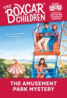 The Amusement Park Mystery 0590452622 Book Cover