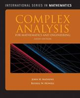 Complex Analysis for Mathematics and Engineering 0697135489 Book Cover