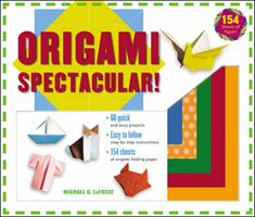 Origami Spectacular! (Kit with Book & Paper) 0804836221 Book Cover