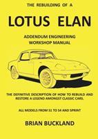 The Rebuilding of a Lotus Elan 3964730009 Book Cover