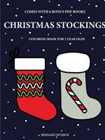Coloring Books for 2 Year Olds (Christmas Stockings) 0244260478 Book Cover