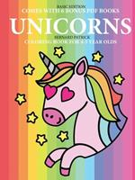 Coloring Book for 4-5 Year Olds (Unicorns) 0244261881 Book Cover
