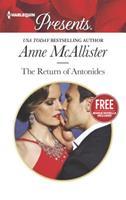The Return of Antonides / Christmas at the Castello (bonus novella) 0373133812 Book Cover