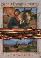 Riding the Pony Express (Saddles, Stars, and Stripes) 0753460017 Book Cover