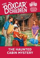 The Haunted Cabin Mystery 0590449834 Book Cover