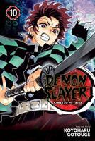 Demon Slayer: Kimetsu no Yaiba, Vol. 10 1974704556 Book Cover