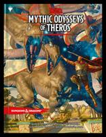 Dungeons & Dragons Mythic Odysseys of Theros (D&D Campaign Setting and Adventure Book) 0786967013 Book Cover