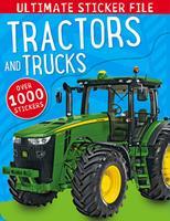 Ultimate Sticker File Tractors and Trucks 1783931167 Book Cover