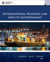 International Business Law and Its Environment 0324649673 Book Cover