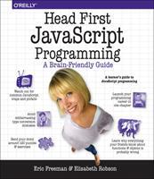 Head First Javascript Programming 144934013X Book Cover