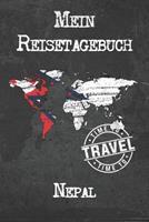 Mein Reisetagebuch Nepal: 6x9 Reise Journal I Notizbuch mit Checklisten zum Ausf�llen I Perfektes Geschenk f�r den Trip nach Nepal f�r jeden Reisenden 1673897479 Book Cover