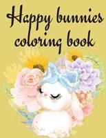 Happy Bunnies Coloring Book 0695115545 Book Cover