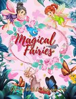 The Fairy Coloring Book for Kids: (Ages 4-8) With Unique Coloring Pages! 0030558158 Book Cover
