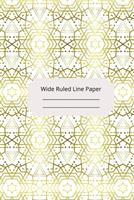 Jewish Art Inspirational, Motivational and Spiritual Theme Wide Ruled Line Paper 1676580360 Book Cover