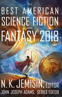 The Best American Science Fiction and Fantasy 2018 1328834565 Book Cover